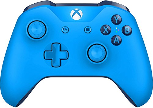 Microsoft XBOX One Wireless Video Gaming Controller, Blue (Renewed)