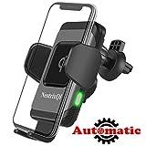 NeotrixQI Caricatore Wireless Auto,10W QI Caricabatteria Rapido Vento d'Aria Culla Supporto Telefono...