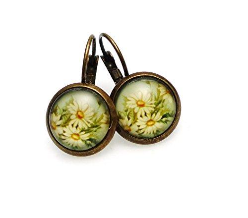 Ladyville Vintage Ohrringe - Gänseblümchen