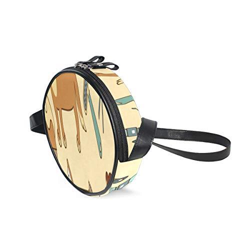 Ladies Shoulder Bags On Clearance Tägliche Notwendigkeiten Kreatives Shampoo Kleine Crossbody-Brieftasche Telefon mit verstellbarem Schultergurt Fashion Circle Wallets für Frauen Crossbody für Teen G