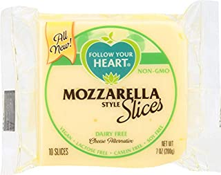 Follow Your Heart (NOT A CASE) Mozzarella Style Cheese Alternative Slices