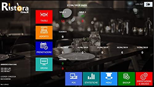 RistoraTouch - software per Ristoranti - PUB - BAR - Pizzerie
