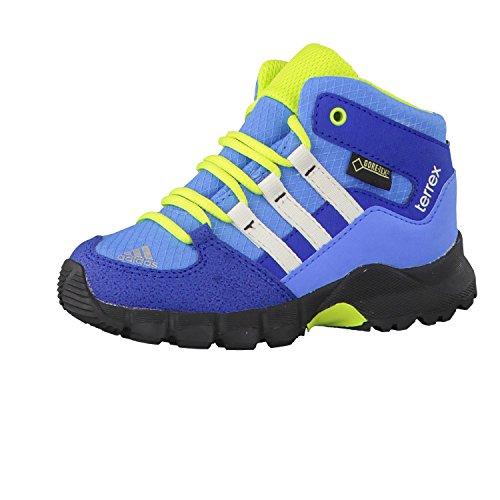 adidas Unisex Kinder Terrex Mid GTX I Sneaker, Azul/Blanco/Verde (Supazu/Blatiz/Seliso), 20 EU