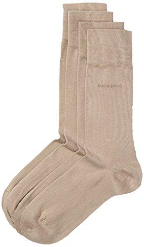 BOSS Herren Socken Twopack RS Uni 10112280 01 2er Pack, (Medium Beige 261), 39/42