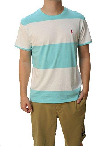 Ralph Lauren Polo-Shirt mit Rundhalsausschnitt, gestreift - mehrfarbig - Mittel