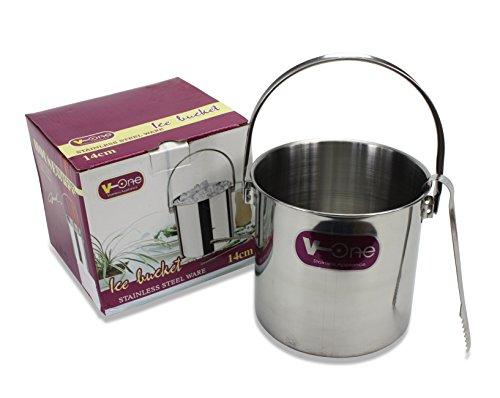 Farang Thai Acciaio Inox Ice Bucket e pinze