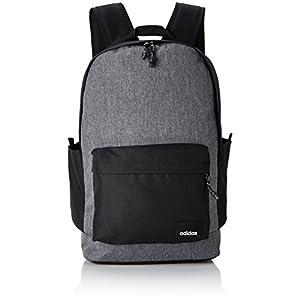 41xikVmvxmL. SS300  - Adidas BP Daily XL Mochila Tipo Casual, 25 cm, 25 litros, Negro/Negro/Blanco