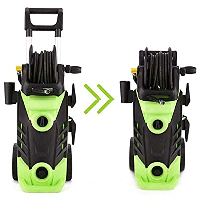 ???????????????????????????????????? ???????????????????????????????? Car Washer 3500psi, 3500 PSI High Pressure Washer Household Cleaner Cleaning Machine with Wire Barrel for Cleaning, Houses Driveways, Patios from Jadpes