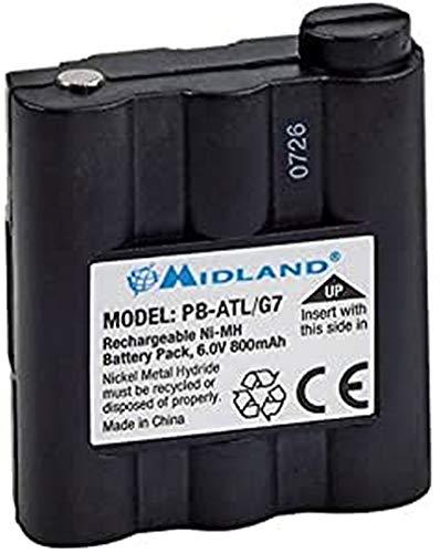 Oferta de Midland G7 Akku - Batería de radiocomunicación para G7, G9, Atlantic (800 Ni-mh)
