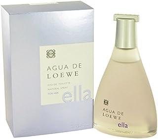 LOEWE Agua de Ella 100 ml agua de tocador Mujeres - (Mujeres, 100 ml, Botella no recargable, Bergamota, Kumquat, limón, Fr...
