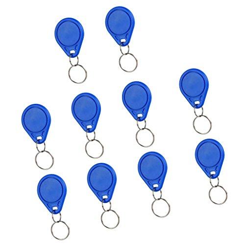 MagiDeal 10 Stück Schlüssel fob 13.56mhz ic Schlüsselanhänger Tags Näherungsschalter für arduino