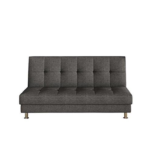 Modernes Sofa Endo mit Bettkasten und Schlaffunktion, Funktionssofa, Lounge Couch, Design Bettsofa Schlafcouch Schlafsofa (Lux 06)