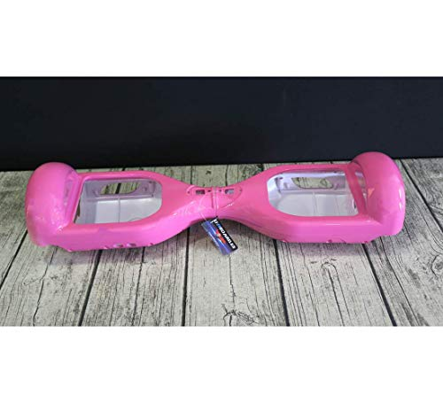 Oviboard.es Carcasa para Hoverboard - Carcasa Patinete eléctrico 6,5″ (Rosa)