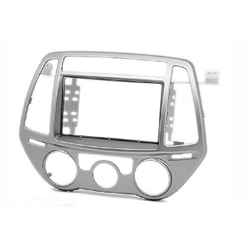 11-426 Double DIN Radio stéréo Adaptateur DVD Dash entourée d'installation Kit de Garniture pour i20 modèles 2012-2014 (Manuel climatisation) Façade d'autoradio/Façade d'autoradio