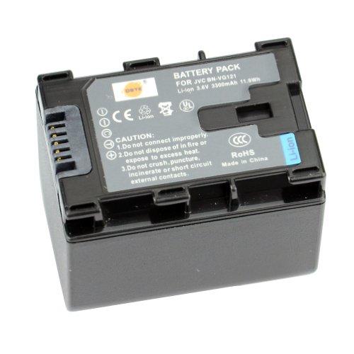 DSTE Repuesto Batería para JVC BN-VG121 GZ-E10 GZ-E100 GZ-E100SEU GZ-E105BEK GZ-E105BEU GZ-E105REK GZ-E10AUS GZ-E10B GZ-E10BUS GZ-E10RUS GZ-E10SEK GZ-E10SEU GZ-E15 GZ-E15BEK GZ-E15BEU