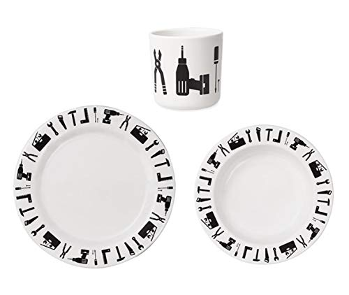 Design Letters 20202900, Tool School-Coffret cadeau vaisselle