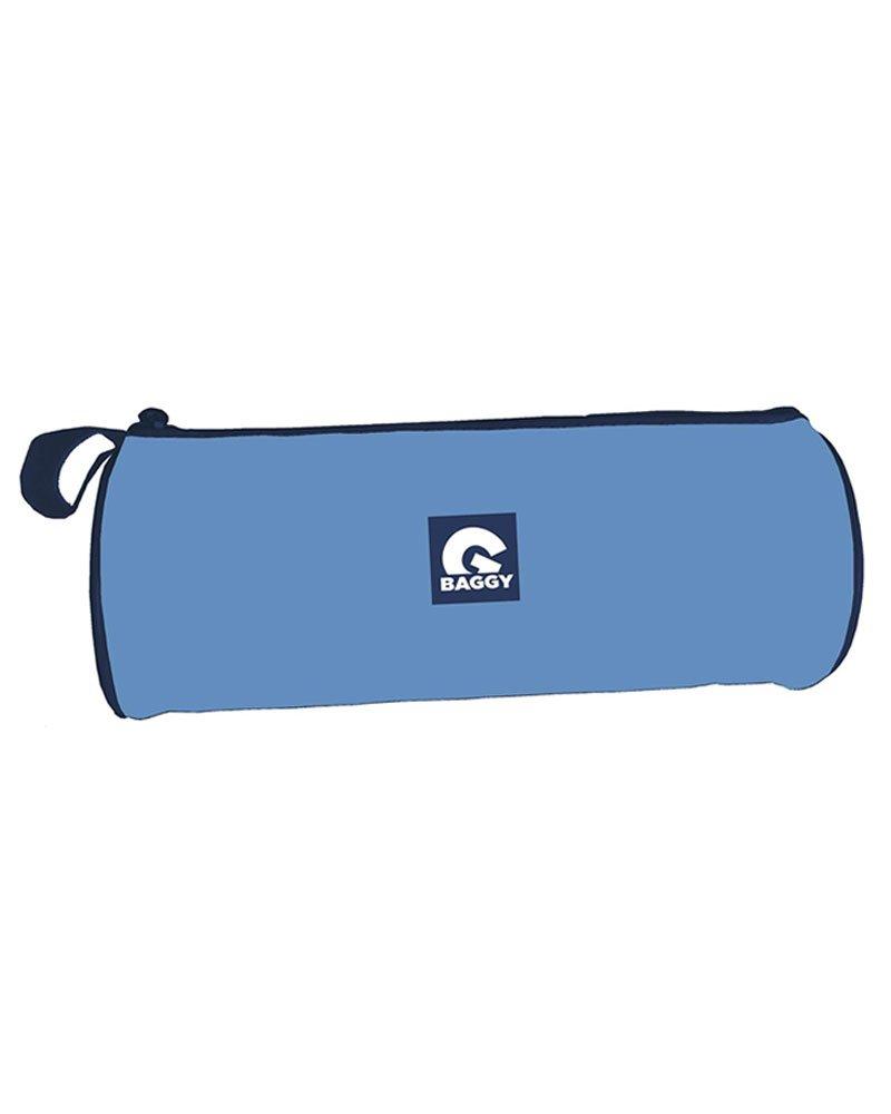 Baggy Estuche portatodo cilindrico Color Azul Claro: Amazon.es: Juguetes y juegos
