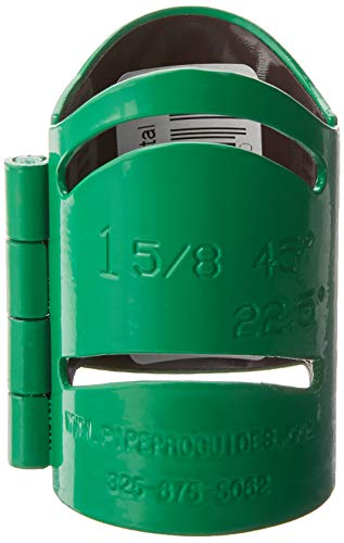 Pipe Pro 158M 1 5/8 Magnetic Metal Cutting Guide, Green