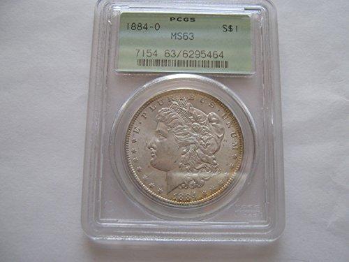 1884 Morgan $1 MS63 PCGS