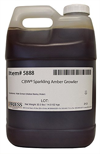 Briess Sparkling Amber Liquid Malt Extract (32 Pound Growler)