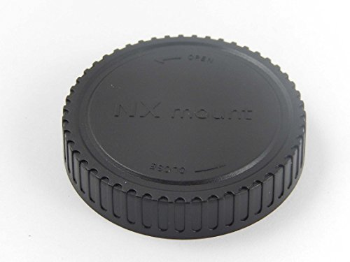 vhbw Objektiv Deckel Cap Abdeckung schwarz NX-Bajonett für Samsung NX1, NX10, NX100, NX1000, NX1010, NX11, NX1100, NX200, NX2000, NX2020, NX210
