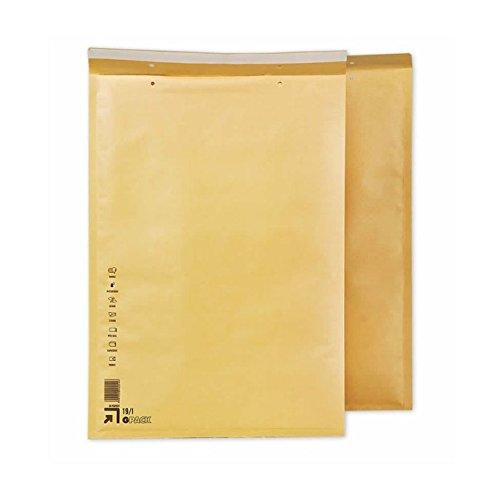 Caja 50 Sobres Acolchados I9. Medidas exteriores 320 x 455 mm. Solapa de cierre auto-adhesiva