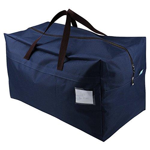 iwill CREATE PRO 100L Festival Ornament Storage Organizer Bags, Go to College Storage Bag, Traveling Storage Bag,Blue