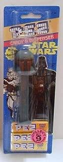 Star Wars PEZ - Boba Fett Dispenser & Candy on cardback (variant colors)