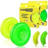 ATOMFRISBEE Frisbee - Disco Volador pequeño con Alcance de hasta 80...