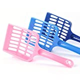 N\A 3 Pack Cat Litter Shovel Plastic Cat Litter Scoop Pet Cleanning Tool for Cat Sand Toilet Cleaning