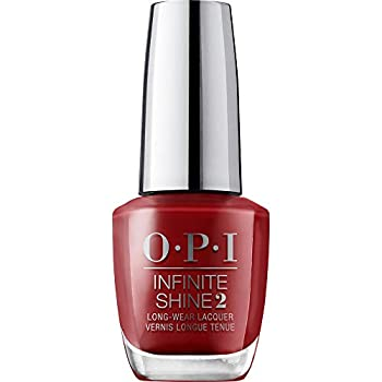 OPI Infinite Shine 2 Long-Wear Lacquer I Love You Just Be-Cusco Red Long-Lasting Nail Polish Peru Collection 0.5 fl oz