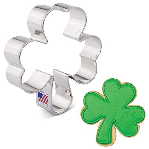 Ann Clark Ausstechformen St. Patrick's Day Irish Shamrock Ausstechform 9,5 cm