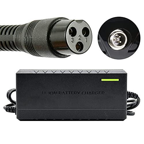 joyvio Cargador de batería 24V 2A 48W para Razor Pocket Sports Mod Dirt Quad E100 E125 E150 E175 E200 PR200 E225 E300 ZR350 E325 MX350 MX400 E500 S Adaptador de Fuente de alimentación