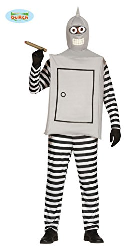 Roboter - Kostüm für Erwachsene, Mehrfarbig, Gr.- Einheitsgröße