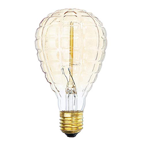 Edison Ledlampen, AC 220 V, E27, 40 W, ballon, ananas, warmwit, retro vintage Edison glossy gloeilamp, versierd, Lights-To