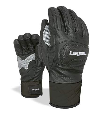 Level Herren Race Handschuhe, Black, 8.5