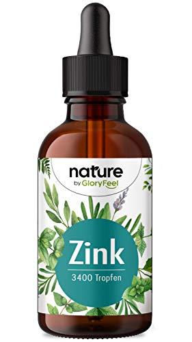 Zink Tropfen - 100ml (3400 Tropfen) - Premium: Zink-Sulfat Flüssig (Ionisches Zink) - Ohne Alkohol & Vegan - Laborgeprüfte Markenqualität deutscher Herstellung