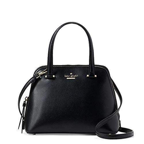 Kate Spade New York Patterson Drive Small Dome Satchel Purse (Black)