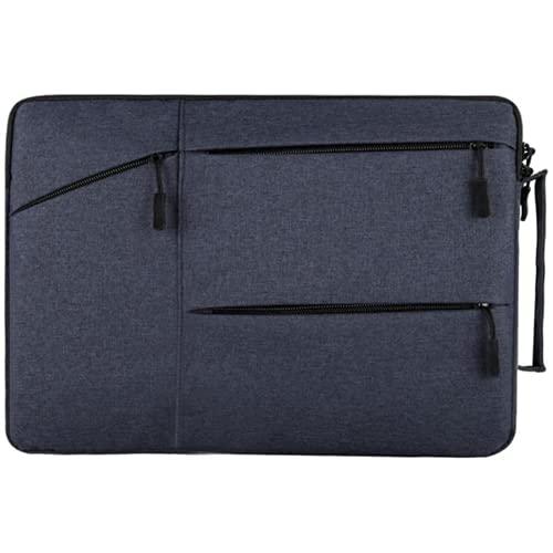 Ulyjcq heren dame laptoptas waterdichte notebook beschermende cover computer handtas aktentas
