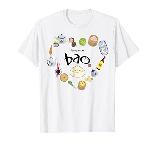Disney Pixar Bao Ingredients Heart Shaped Graphic T-Shirt