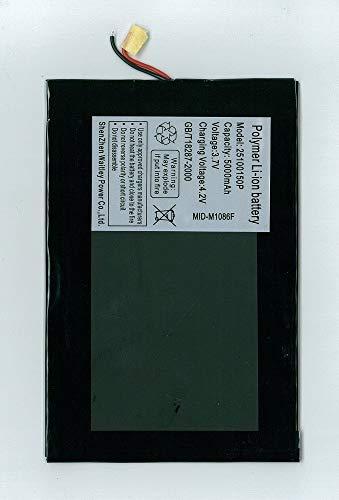 Batería Tablet PC 3,7 V 5000 mAh - Dimensiones 15,1 cm x 9,9 cm x 0,2 cm -
