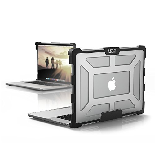 MBP15-4G-L-IC UAG MacBook Pro 15-inch with Touch Bar (4th Gen) Feather-Light Rugged [ICE] Military Drop Tested Laptop Case