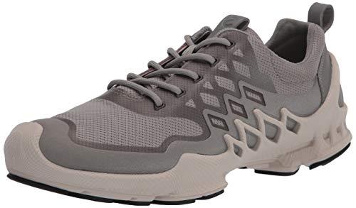 ECCO Zapatillas de running Biom Aex Trainer para mujer, gris (Paloma salvaje/Textil plateado pulido), 40/41 EU