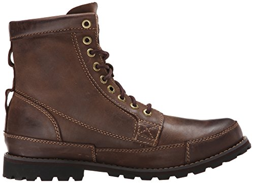 Timberland Men's Earthkeeper 6″ Laceup Boot,Dark Brown Burnished Oiled,10.5 M US