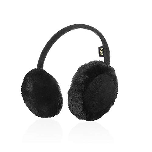 Kids Classic Ear Warmers/Earmuffs-Winter Faux Fur Warm Ear Muffs for Boys and Girls by Aurya(Black)