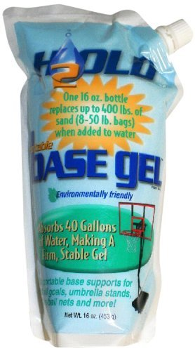 Basketball Goal Portable Bases Polymer, 16-Ounce