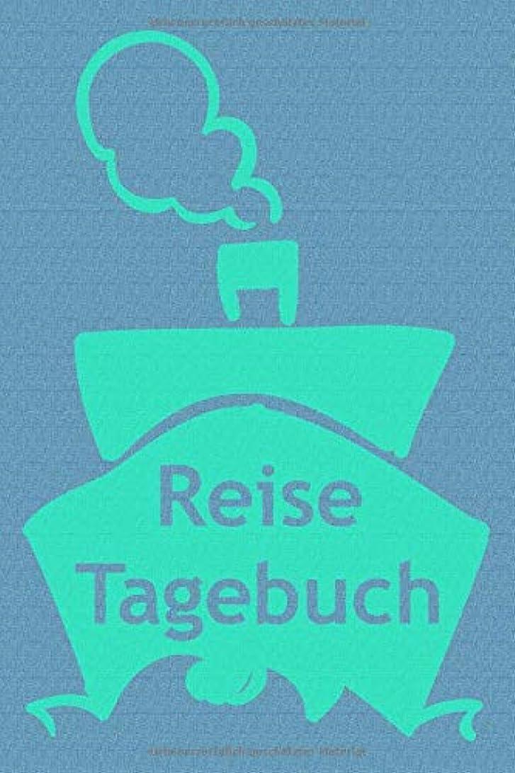 リズム環境に優しい保険をかけるReisetagebuch: Notizbuch zum Eintragen der Reiseerlebnisse I 124 Seiten liniert mit Inhaltsverzeichnis I Kreuzfahrt Schiff