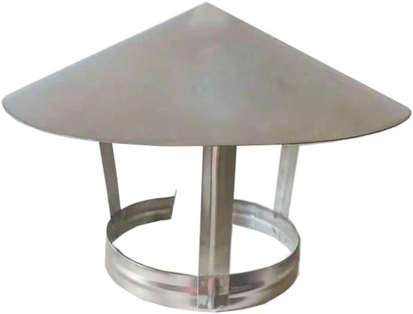 LTLCBB Sombrero Extractor De Humo Estufa De LeÑa Negro Vitrificado 75-250mm (milÍmetros) Ideal Estufas Chimeneas Hogar Piso,160mm