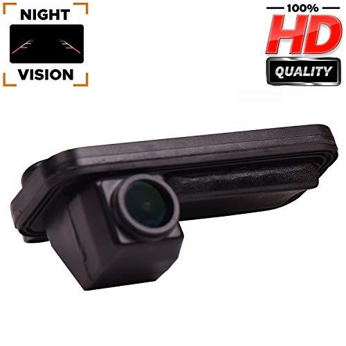 mächtig 170 ° wasserdichte Farbnachtsichtkamera HD Rückfahrkamera Nummernschild Licht Einparkhilfe Kamera