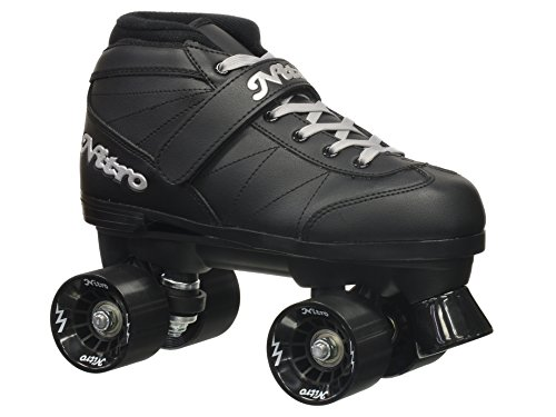 Image of Epic Skates Super Nitro Indoor/Outdoor Quad Speed Roller Skates, Youth 5
